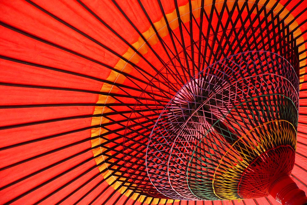 photoblog image Japanese umbrella