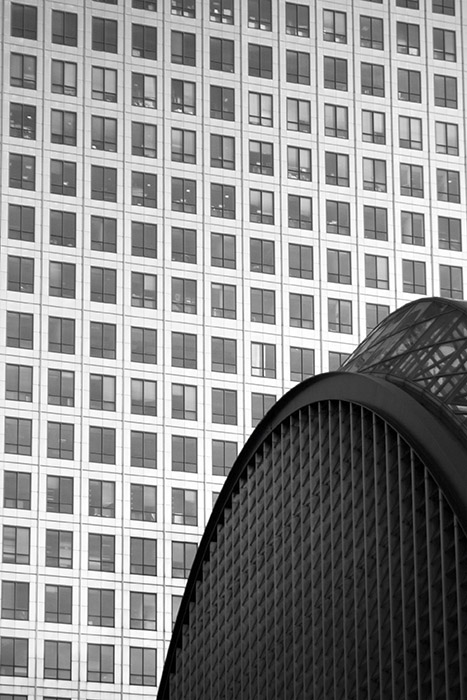 photoblog image Arches and lines