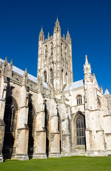 photoblog image Canterbury Cathedral (side)